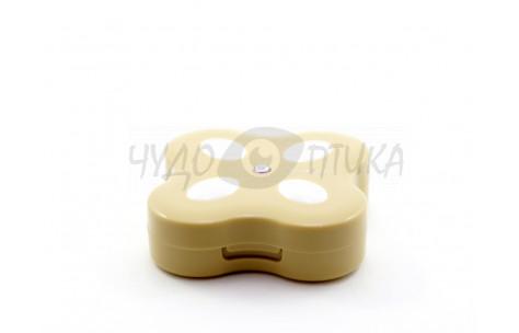 """Дорожный набор для контактных линз """"Бабочка"""" A-8008, бежевый"""