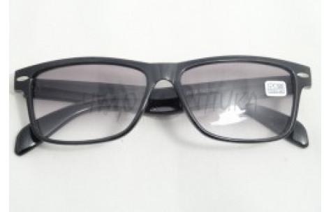 Солнцезащитные очки с диоптриями Восток 6619 (Т) черные/705033 by Неизвестен