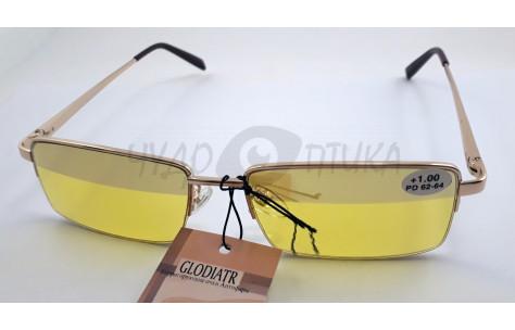 Очки для водителей (антифары) Glodiatr GR8003 с диоптриями /102016 by Glodiatr