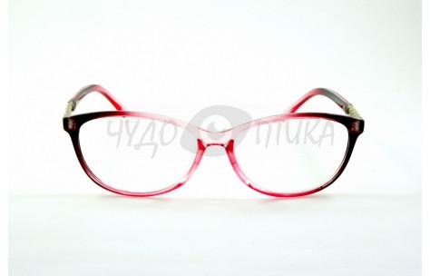 Очки для зрения EAE 2037 С217 в розовой оправе PD58-60