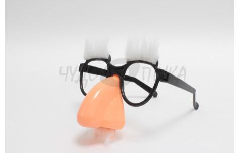 Карнавал. Очки-маска с бровями и большим носом/401001 by Сима-Ленд