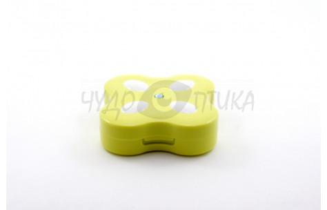 """Дорожный набор для контактных линз """"Бабочка"""" A-8008, зеленый/502008_ЗЕЛ by CnKaite"""