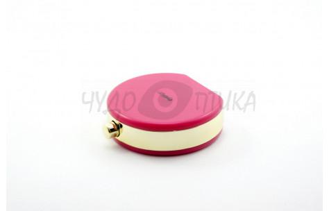 Дорожный набор для контактных линз Perfume A-8065, розовый