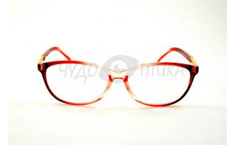 Очки для зрения вдаль EAE 2037 С292 в красной оправе PD58-60