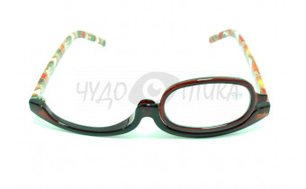 Очки для макияжа с диоптриями Fabia Monti FM129 C76