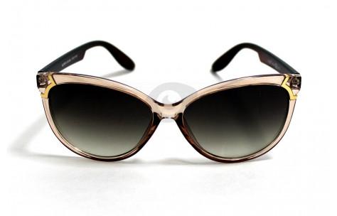 Солнцезащитные очки в коричневой оправе Alese AL9106 A32, женские