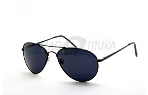 Солнцезащитные подростковые очки OLO P720 с3 в черной оправе
