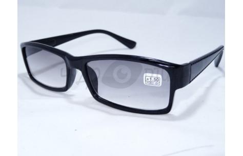 Солнцезащитные очки с диоптриями Восток 6616 (Т) черные/705016 by Неизвестен