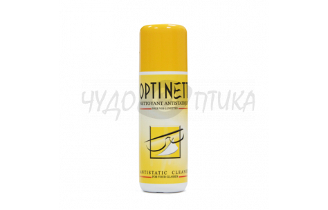 Спрей-антистатик для очистки очков Optinett, 120 ml