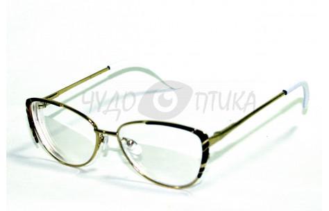Очки для зрения вдаль Glodiatr G1014 C1 с белыми дужками