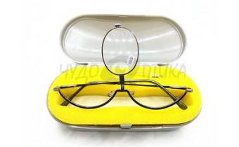 Очки для макияжа со сменными линзами в наборе, серые