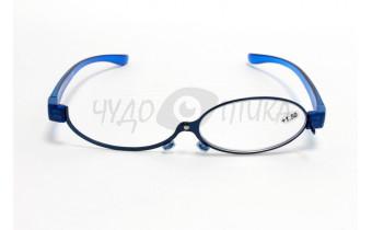 Очки для макияжа с диоптриями Aipo, синие