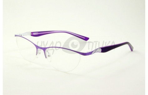 Очки для зрения EAE 115 С5 в фиолетовой оправе PD58-60