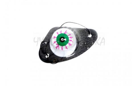 """Наглазкик карнавальный """"Яркий глаз"""", зеленый"""