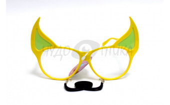 "Карнавал. Очки-маска ""Волчок"", желтые"