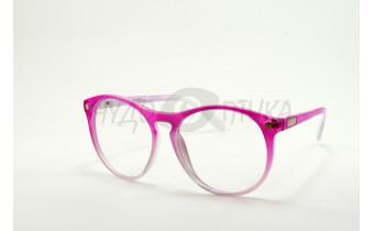 Имиджевые очки Crisli 15982B 782-464-5 в розовой оправе