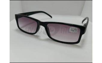Солнцезащитные очки с диоптриями МОСТ 6008 (Т) черные м