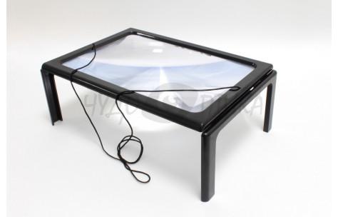 Плоская лупа-столик А4, 3х