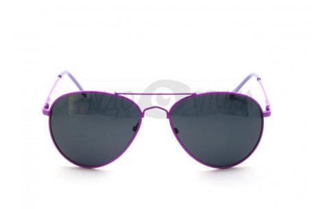 Солнцезащитные подростковые очки OLO P720 с6 в фиолетовой оправе