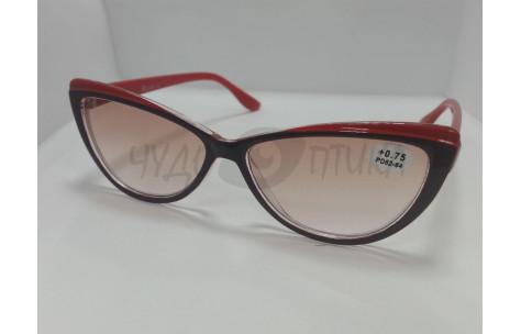 Солнцезащитные очки с диоптриями Ralph RA0406 черно-красные/705050 by Ralph