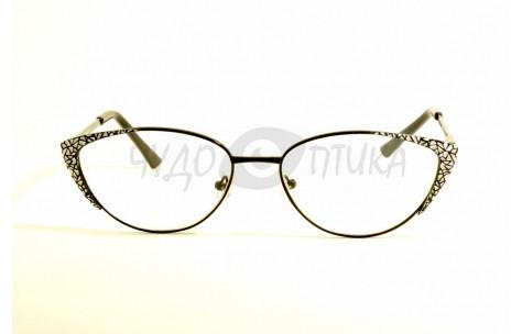 Очки для зрения вдаль Glodiatr G0799 C6 в черной оправе