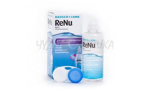 Раствор для обработки контактных линз ReNu MPS, 240 мл