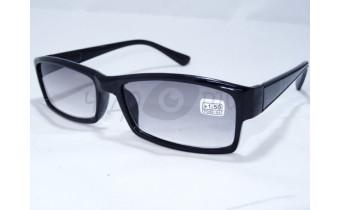 Солнцезащитные очки с диоптриями Восток 6616 (Т) черные