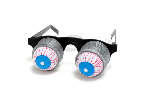 """Карнавал. Очки """"Глаза на пружинах"""""""