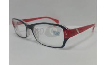 Очки для зрения МОСТ 2031 черно-красные