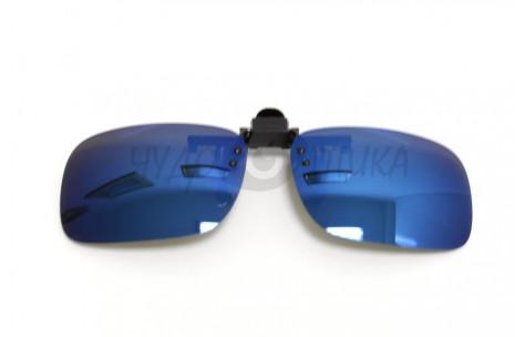 Поляризационные накладки-шторки на очки Polarized хамелеон синий, размер L/200005-L by Polarized