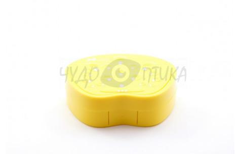 Дорожный набор для контактных линз Peacock Princess A-8082, желтый