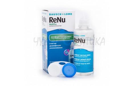 Раствор для обработки контактных линз ReNu MultiPlus, 120 мл
