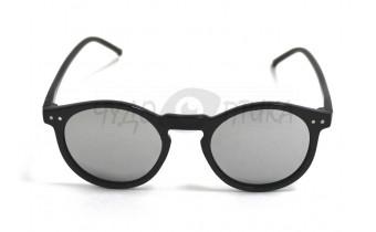 Солнцезащитные очки  черные с зекральным покрытием Polarised PLY015 c3