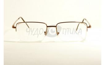 Очки для зрения вдаль Aoshidaer 2004 в бронзовой оправе
