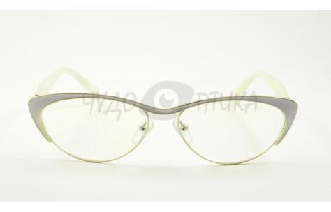 Очки для зрения вдаль Fabia Monti FM919 C19 в белой оправе/100180_Д by Fabia Monti