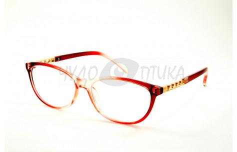 Очки для зрения EAE 2037 С292 в красной оправе PD58-60