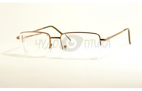 Очки для зрения Aoshidaer 2004 в бронзовой оправе