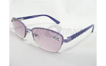 Солнцезащитные очки с диоптриями Сибирь1503 С-7 фиолетовые