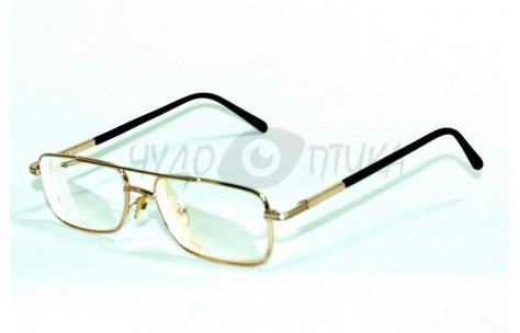 Очки для зрения вдаль Kiki 9003 в золотой оправе