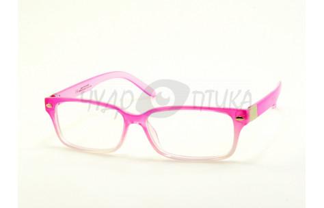 Имиджевые очки Aolise 5909B 782-464-5 в розовой оправе