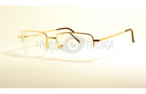 Очки для зрения вдаль Aoshidaer 6090 в золотистой оправе