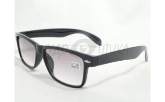 Солнцезащитные очки с диоптриями Восток 6619 (Т) черные