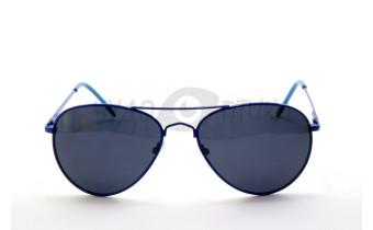 Солнцезащитные подростковые очки OLO P720 с7 в синей оправе