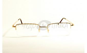 Очки для зрения вдаль Aoshidaer 2004 в золотистой оправе