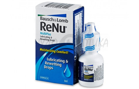 Увлажняющие капли для контактных линз ReNu MultiPlus, 8 мл