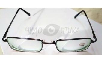 Очки для зрения вдаль Kiki 9028 в черной оправе