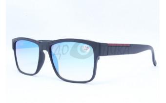 Очки для водителей (антифары) Fabia Monti 0213  с диоптриями (зеркальные)