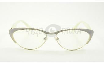 Очки для зрения вдаль Fabia Monti FM919 C19 в белой оправе