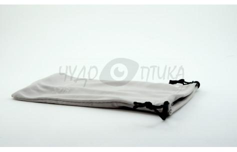 Футляр для с/з очков текстильный, серый