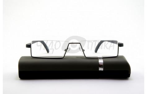 Очки для зрения Glodiatr TR90 G106 c3 в футляре, в серой оправе